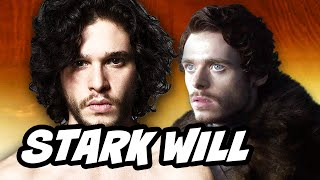 Game Of Thrones Season 6 - Jon Snow and Robb Stark Will