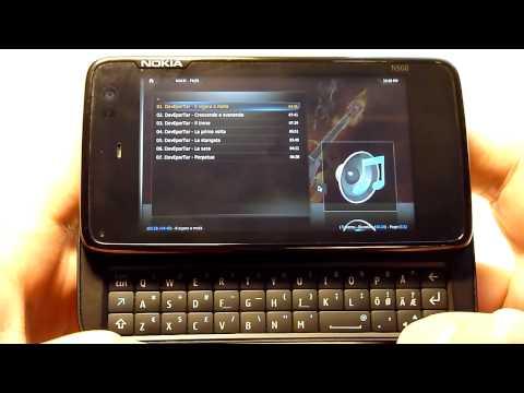 Nokia N900 + MeeGo 1.1.80 + XBMC