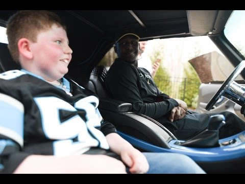 Thomas Davis Gives Jonathan The Ultimate Dream Day