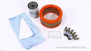 Honeywell 45kW 5.4L Home Standby Generator Maintenance Kit (5658)