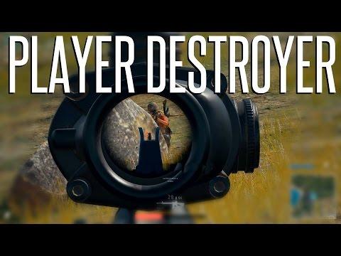 PLAYER DESTROYER - Battlegrounds (Squads) M16A4 Gameplay