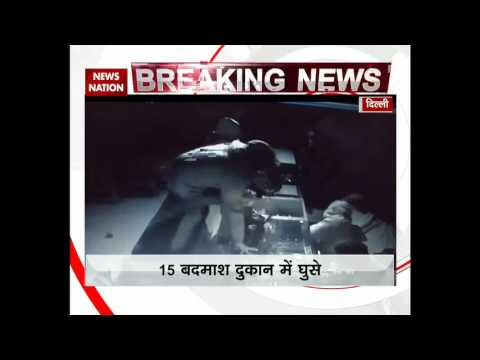 Robbers loot jewellery shop in Narela, New Delhi
