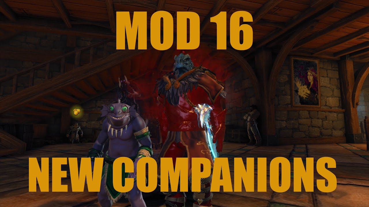 Neverwinter Mod 16 New Companions