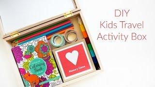 DIY Kids Travel Activity Box