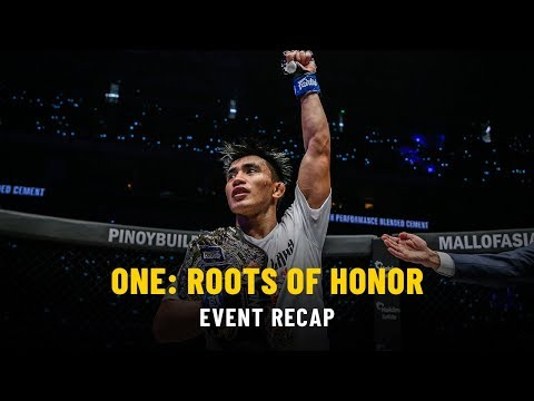 Event Recap   ONE: ROOTS OF HONOR