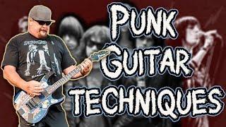 11 ESSENTIAL Punk Guitar Techniques