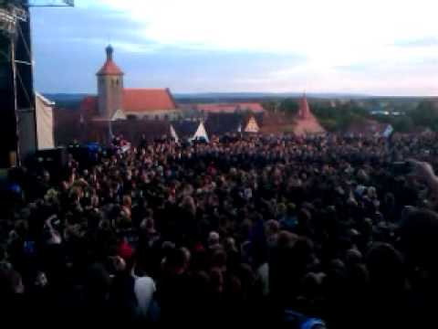 Wall of Death Feuertanz 2010 Apokalyptische Reiter Adrenalin