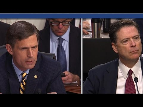 """James Comey: """"No doubt"""" Russia interfered in 2016 election"""