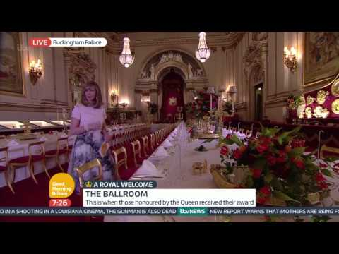 A State Banquet - Inside Buckingham Palace | Good Morning Britain