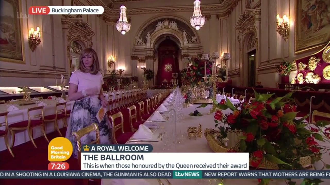 A State Banquet - Inside Buckingham Palace | Good Morning