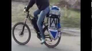 Видеообзор велосумка, велорюкзак, велобаул, сумка для велосипеда DenVik raid
