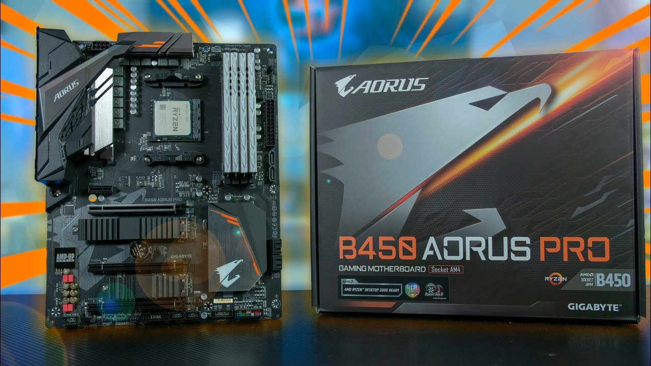 AORUS B450 PRO - Good Enough For 2700X At 4 2Ghz