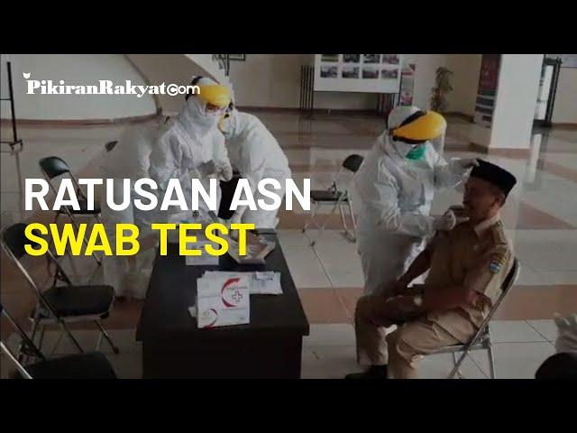 Ratusan ASN di Tasikmalaya Jalani Swab Test, Pasien Positif Covid-19 Mayoritas Pernah ke Luar Daerah