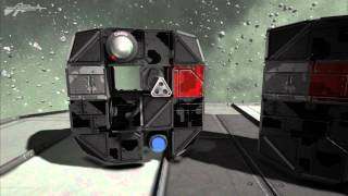 Space Engineers - Riot Shield Drones, Breach & Clear, Mobile Cover Concept