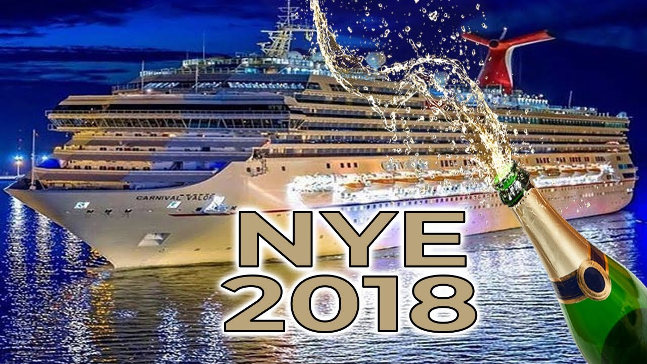 New Year's eve 2018 on Carnival cruise Valor - YouTube