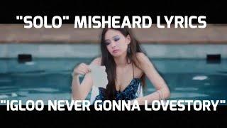 《JENNIE SOLO》misheard lyrics