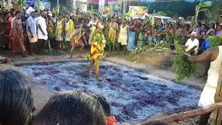 Theemithi thiruvizha in Magaral kandigai Draupadi amman temple magesh upload