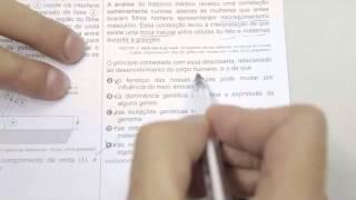 CHROMOS GABARITO ENEM 2015 - Paulo - Biologia - Questão 54 - Prova Azul