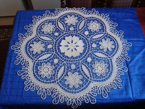 Predivna kolekcija poentlesa-Beautiful colection of crochet(romanian lace)