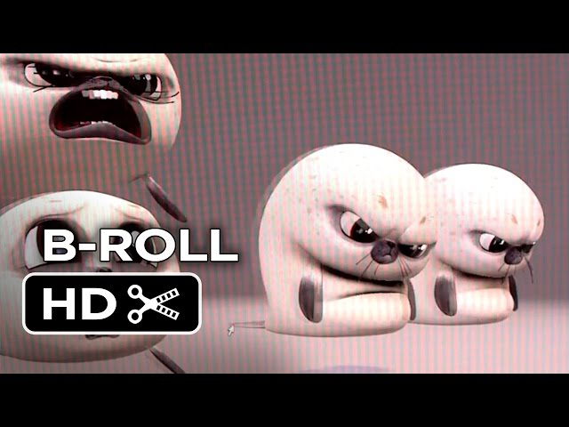 Penguins of Madagascar B-ROLL - Animation (2014) - Animated Movie HD