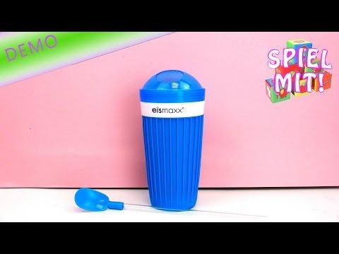 Slushy ice cream maker machine review - Icemaxx Slush Ice Becher deutsch