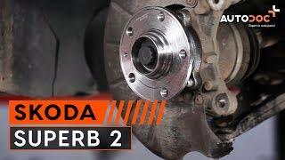 Hvordan bytte fremre hjullager på SKODA SUPERB 2 [Bruksanvisning]