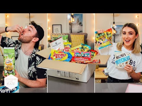 Epic Trying American Candy From A Subscriber - In The Kitchen With Kate