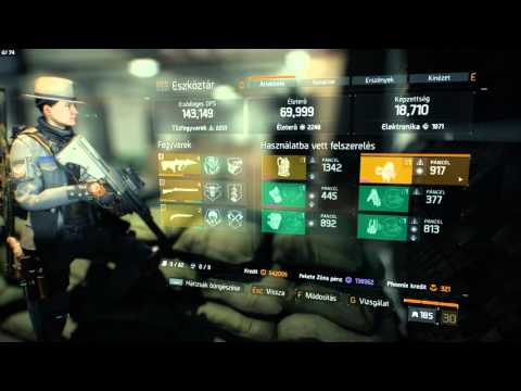 Tom Clancy's The Division   Tactical AUG A3P Firetest