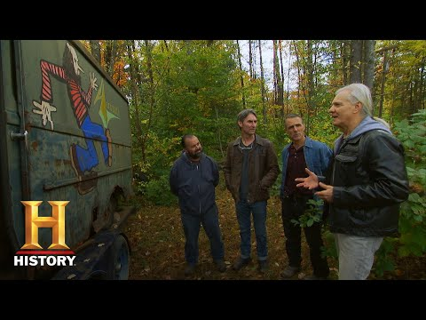 Mary the Web Girl - American Pickers Finds Long Lost Aerosmith Tour Van