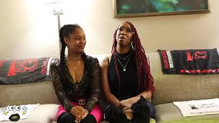 DestinyMuah and Ashley Noelle CalmDownTV Interview Part 1