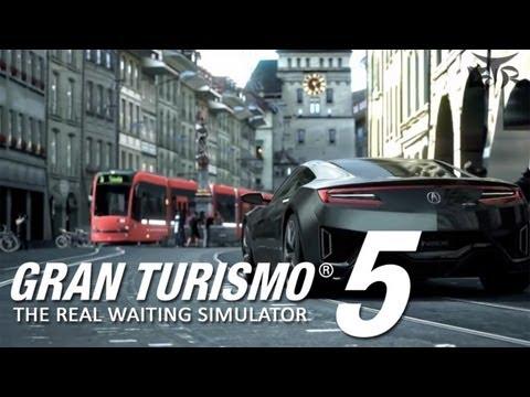 Game Trailer - Gran Turismo 5 - Acura NSX Concept 2013 Detroit Trailer - [HD] Gameplay