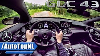 Mercedes AMG GLC 43 Coupe POV Test Drive by AutoTopNL
