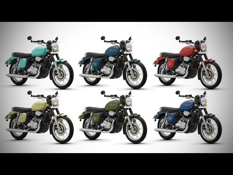 2018 Jawa Forty Two - All Colours - Images   AUTOBICS