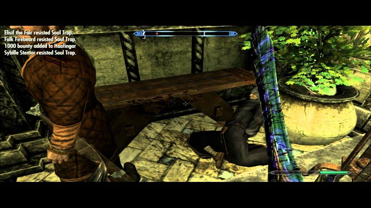 Dark brotherhood forever SKYRIM - deleted scenes - YouTube