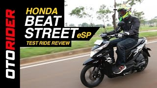 Honda Beat Street Esp 2017 Test Ride Review Indonesia Otorider Youtube
