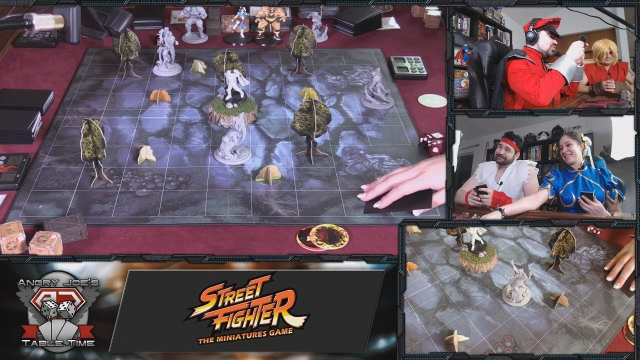 Street Fighter: The Miniatures Game by Jasco Games — Kickstarter