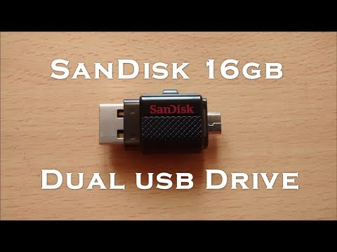 Sandisk USB OTG Pendrive - 16GB - Quick Unboxing and Review