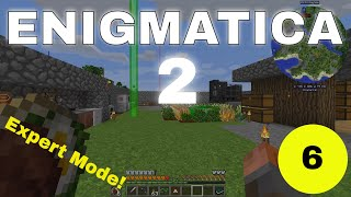 Enigmatica 2 Expert Mode E06 - Unlocking Mekanism, Actually Additions and Botania!