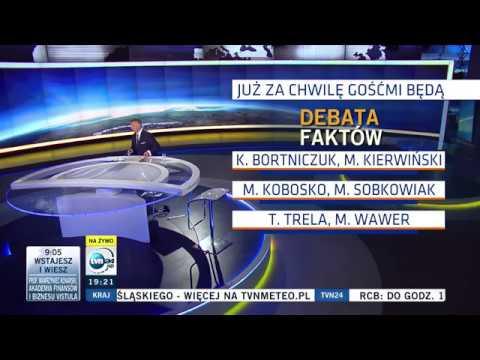 "TVN24 - Początek programu ""Debata Faktów - Debata Prezydencka"" (21.06.2020)"