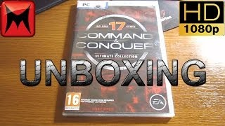 Command and Conquer The Ultimate Collection PC Origin Unboxing Video HD1080p