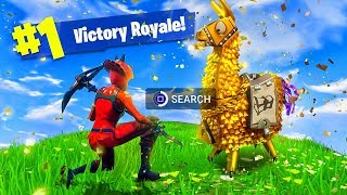 OPEN 100 LLAMAS AND THIS WILL HAPPEN! - Fortnite