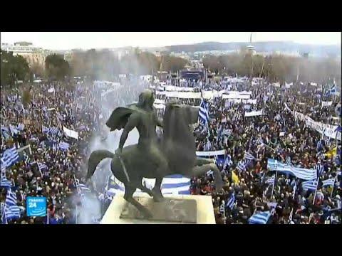 مظاهرات في اليونان تتعلق بمقدونيا  - نشر قبل 2 ساعة