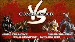 Commander Versus Series: Ob Nixilis v. Daretti v. Freyalise v. Teferi [MTG Multiplayer]