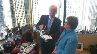 Donald Trump's Tour of His Manhattan Office