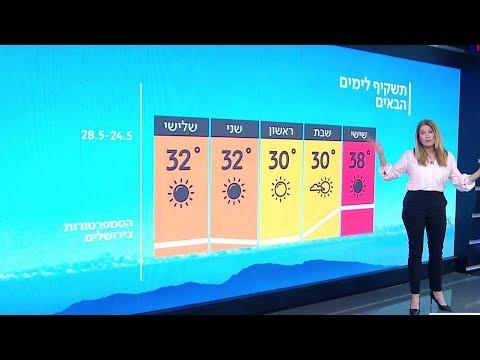 התחזית 23.05.19: עומס חום קיצוני עד כבד