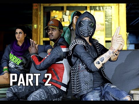 Watch Dogs 2 Walkthrough Part 2 - Cyber Driver (Early Gameplay Commentary)