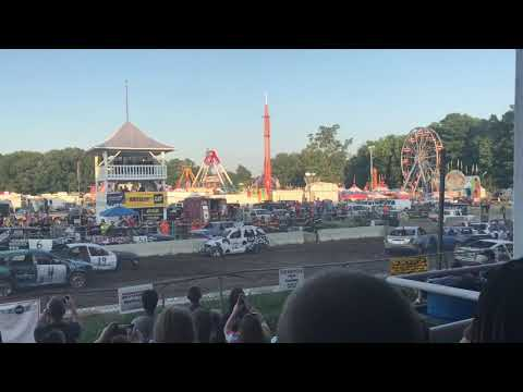 Saratoga County fair NY 2018, 4 cylinders.