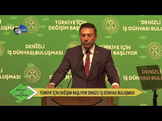 Deha TV-Bakan Berat Albayrak Denizli'de 09.03.2020
