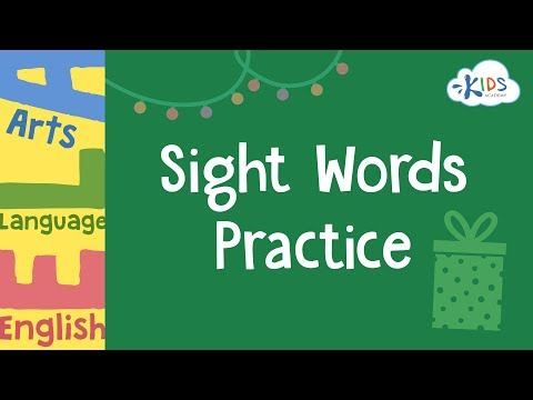 Sight Words Practice  3rd Grade Worksheets  Kids Academy