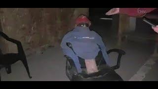 Vecinos acusaban inseguridad y se encontraron con un muñeco de guardia - CHV Noticias